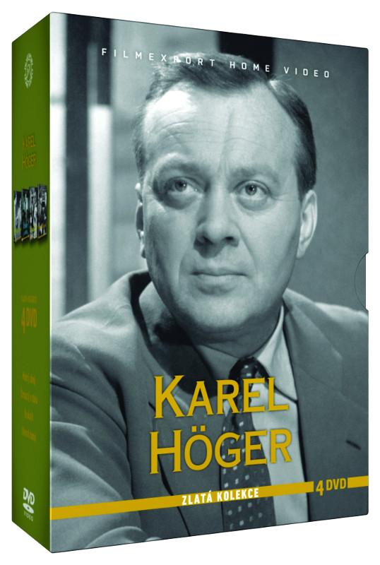 Karel Höger - Zlatá kolekce 4 DVD