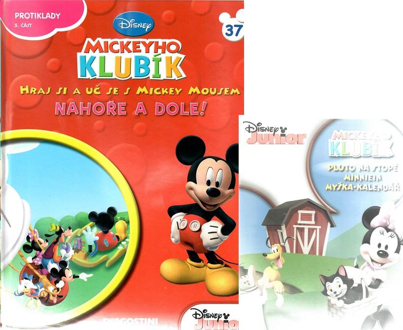 Mickeyho klubík 37 (DVD + kniha)