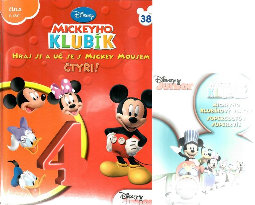 Mickeyho klubík 38 ( DVD+kniha)