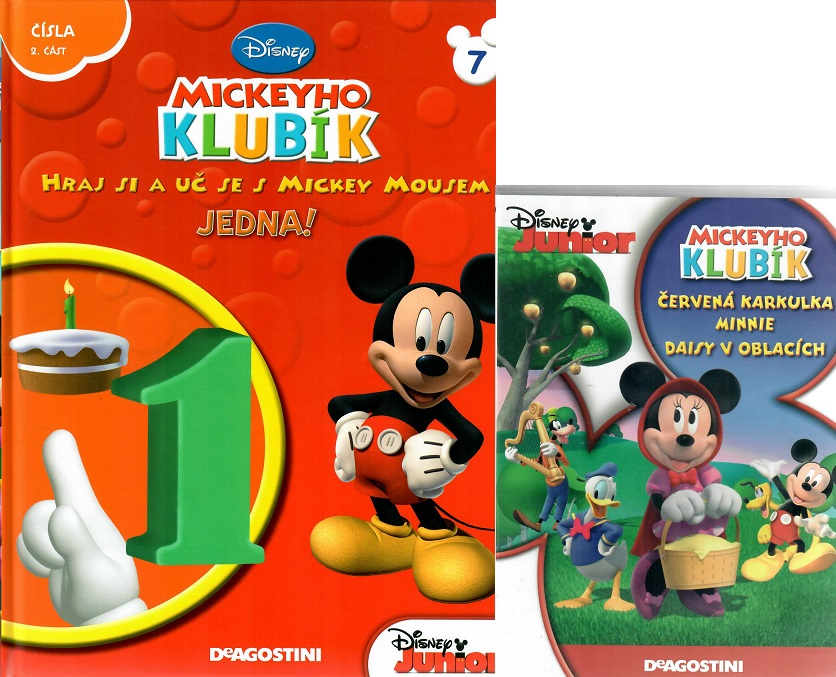 Mickeyho klubík 7 (DVD + kniha)