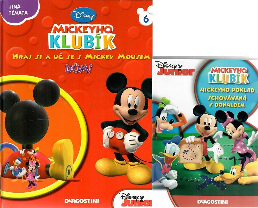 Mickeyho klubík 6 (DVD + kniha)