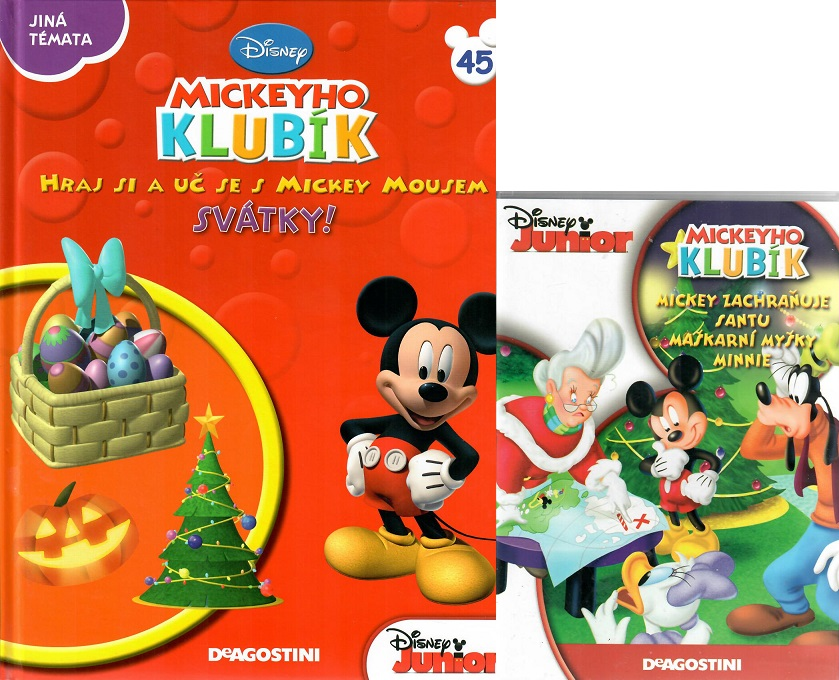 Mickeyho klubík 45 (DVD + kniha)