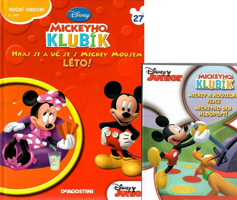Mickeyho klubík 27 (DVD + kniha)