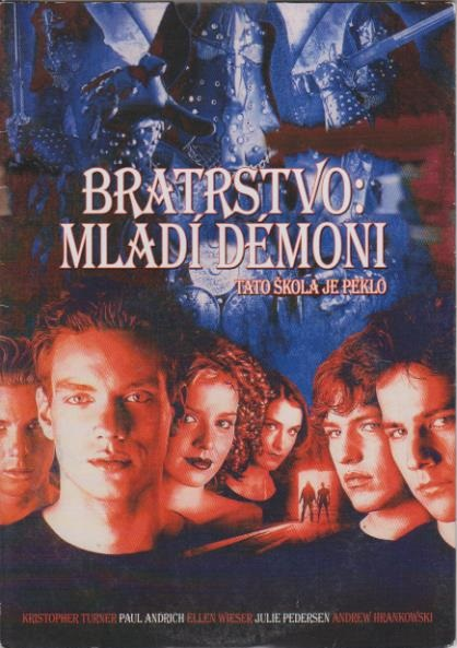 Bratrstvo: Mladí démoni - DVD