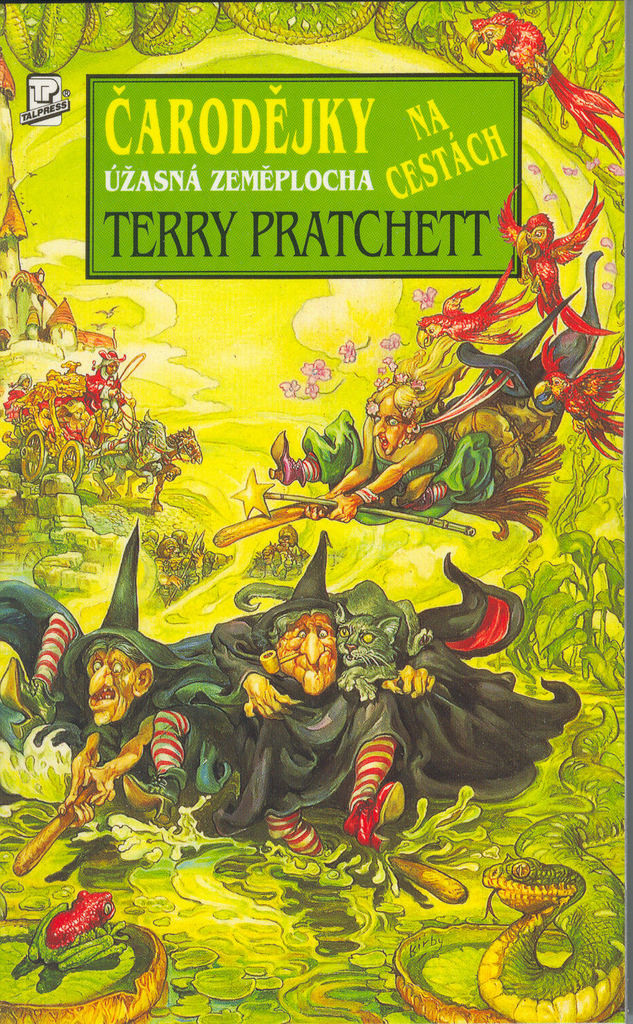 Čarodějky na cestách: Úžasná zeměplocha - Terry Pratchett