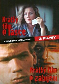 Krátký film o lásce / Krátký film o zabíjení DVD plast