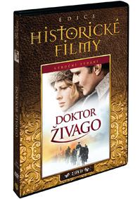 Doktor Živago limitovaná sběratelské edice 2DVD