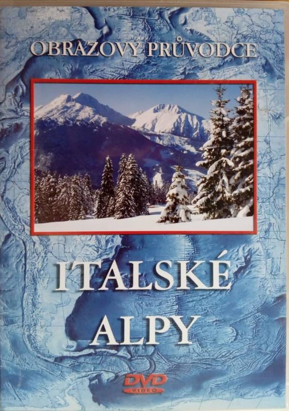 Italské Alpy - DVD plast
