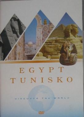 Egypt Tunisko DVD plast
