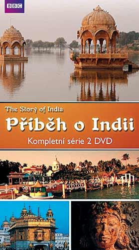 Příběh o Indii 2DVD pošetka