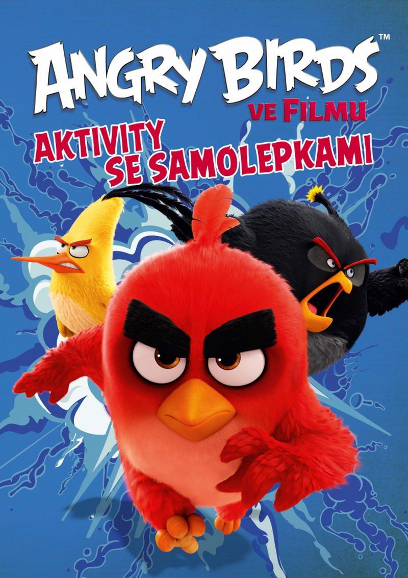 Angry Birds ve filmu aktivity se samolepkami