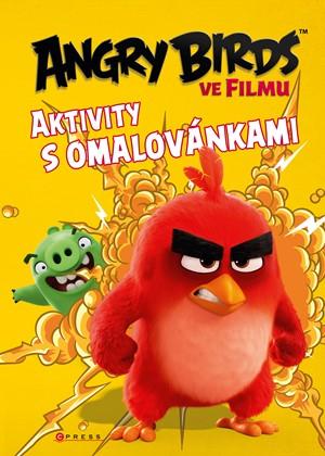 Angry Birds ve filmu aktivity s omalovánkami