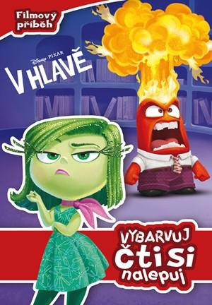 Disnex Pixar - V hlavě - vybarvuj čti si nalepuj