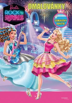 Barbie: Rock´n Royals omalovánky
