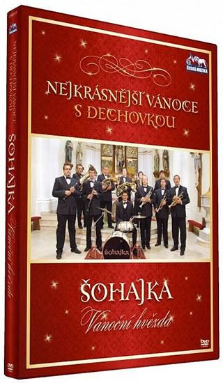 Nejkrásnější vánoce s dechovkou - Šohajka Vánoční Hvězda DVD  plast