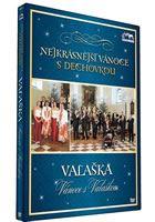 Nejkrásnější vánoce s dechovkou - Valaška - Vánoce s Valaškou  DVD plast
