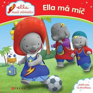Ella malé slůňátko - Ella má míč