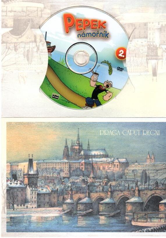 Pepek námořník 2 - DVD dárková obálka