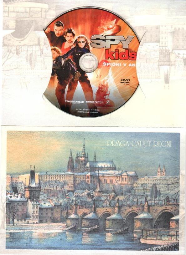 Spy kids - DVD ( dárková obálka )