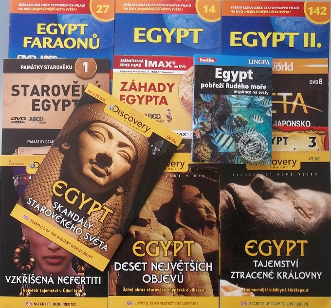kolekce Egypt ( 1x kniha + 12 DVD )