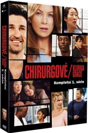 Chirurgové / Klinika Grace - kompletní 1.série - DVD