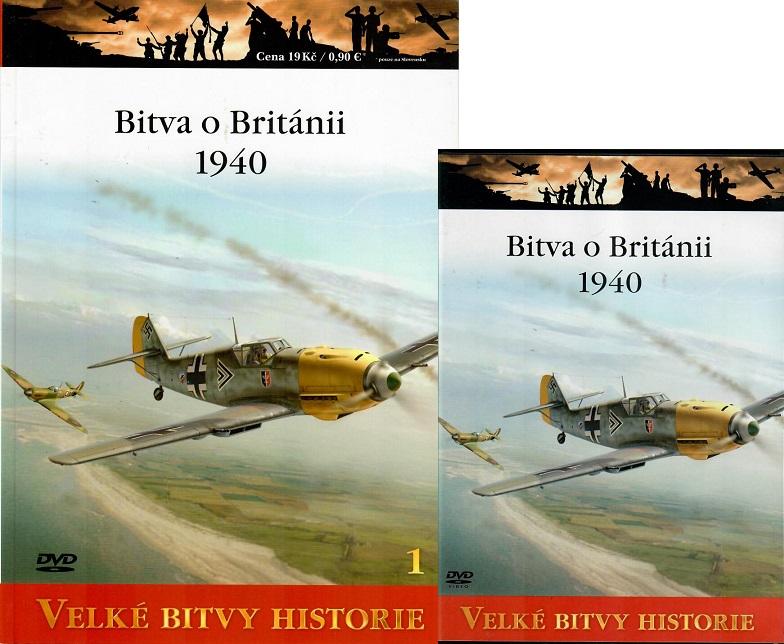 Velké bitvy historie 1 - Bitva o Británii 1940 ( Časopis + DVD )