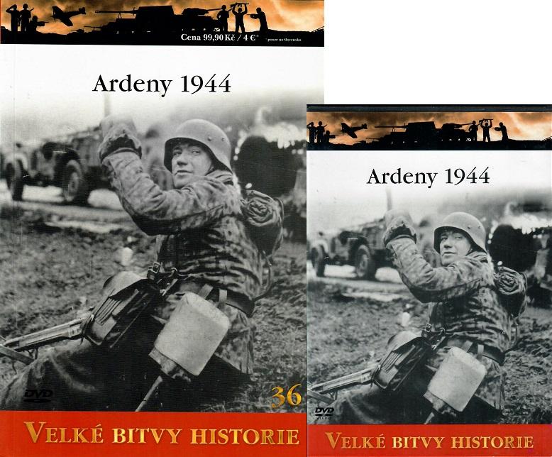 Velké bitvy historie 36 - Ardeny 1944 (Časopis + DVD )