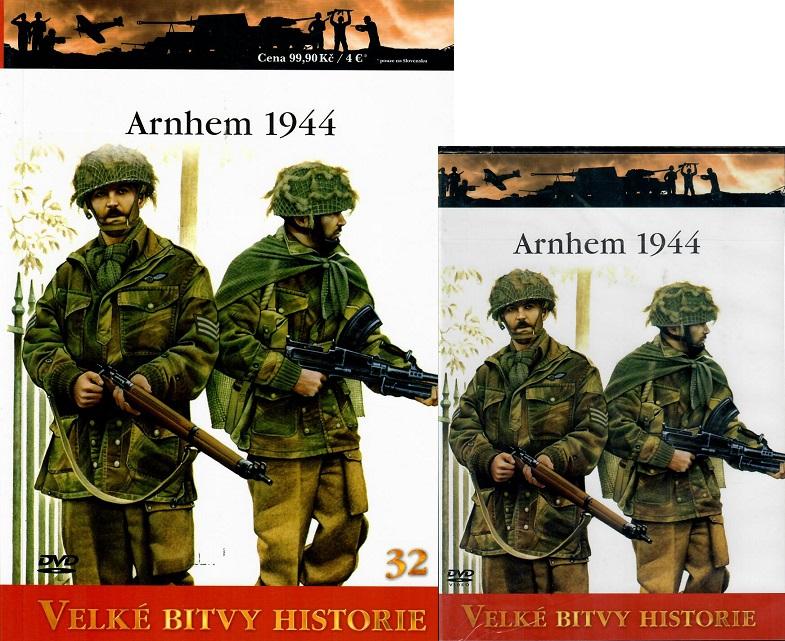 Velké bitvy historie 32 - Arnhem 1944 (Časopis + DVD )