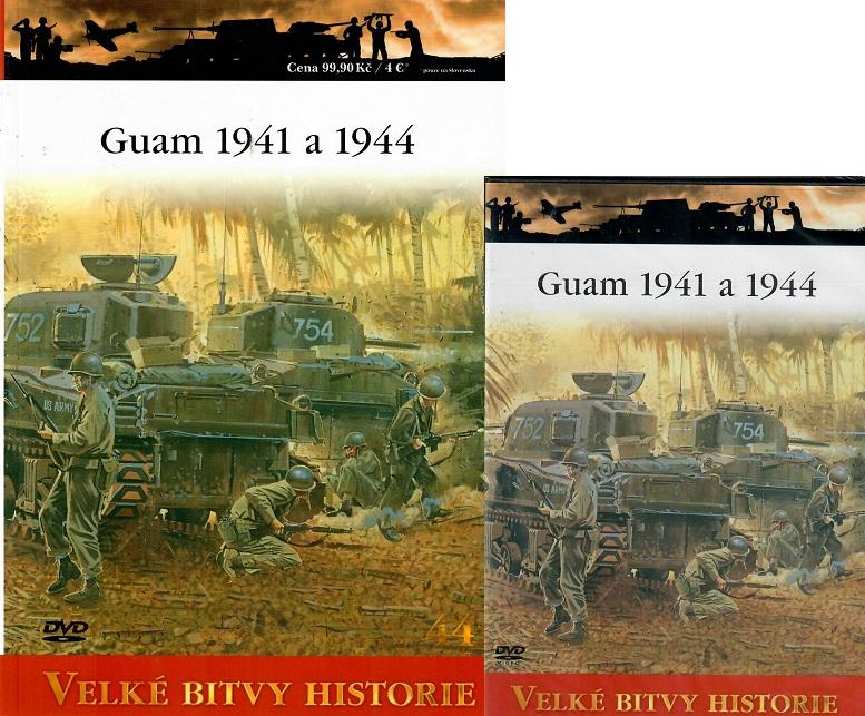Velké bitvy historie 44 - Guam 1941-1944 ( Časopis + DVD )