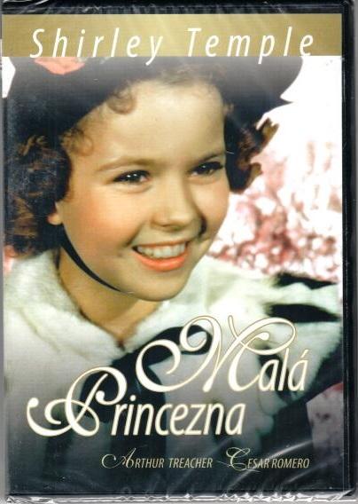 Malá princezna DVD plast