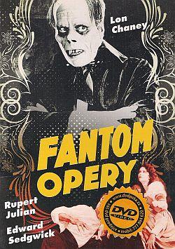 Fantom opery DVD plast