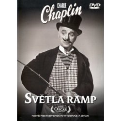 Charlie Chaplin - Světla Ramp DVD plast
