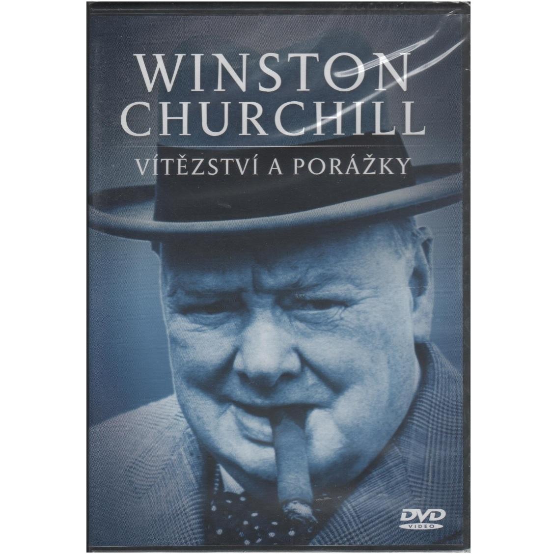 Winston Churchill - Vítězství a porážky DVD plast