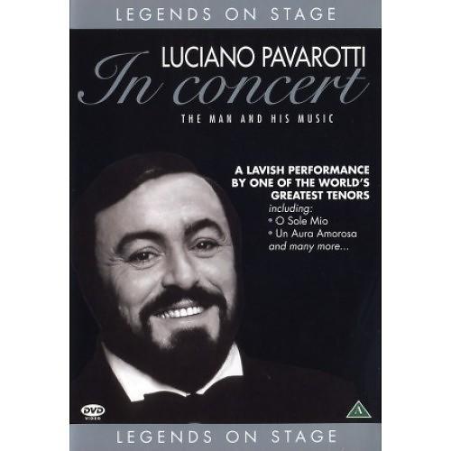 Luciano Pavarotti - In concert DVD plast