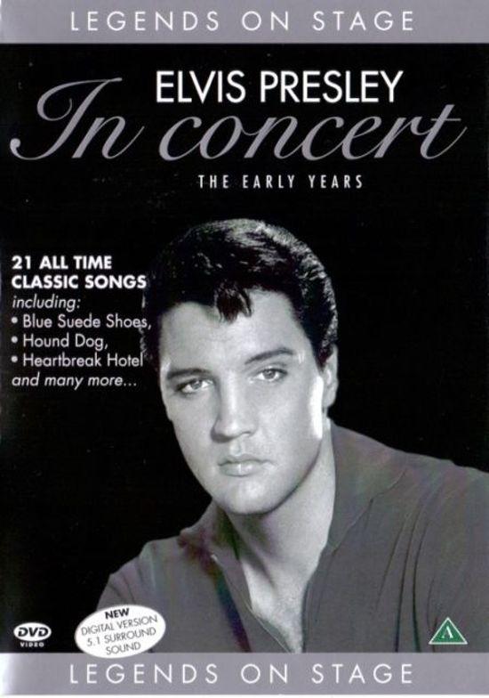 Elvis Presley - In concert DVD plast