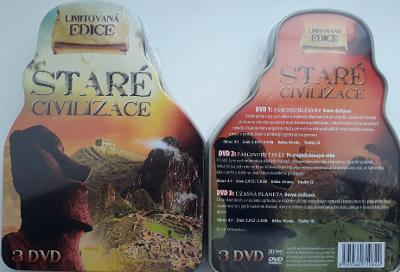 Staré civilizace 3DVD - steel box