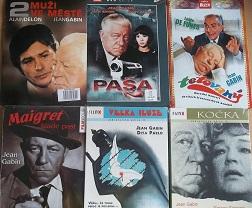 Kolekce Jean Gabin 6 DVD