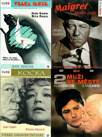 Kolekce Jean Gabin 4 DVD