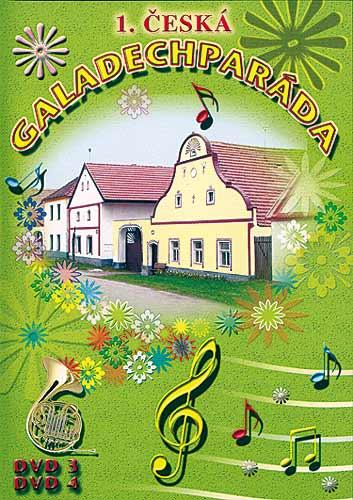 1. Česká Galadechparáda - DVD3 a DVD4 plast