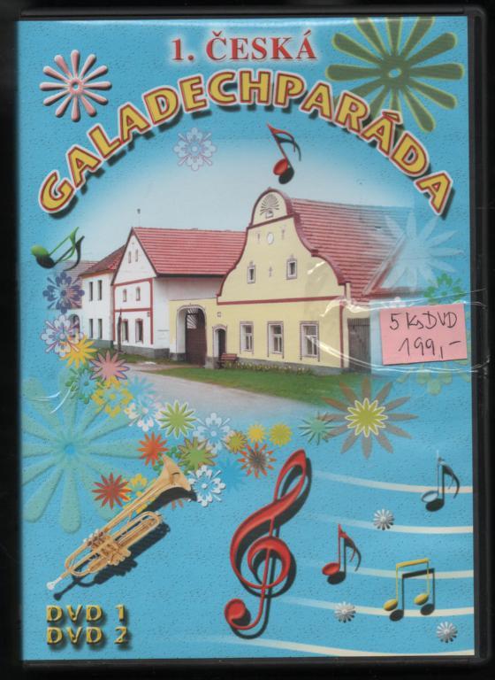1. Česká Galadechparáda DVD1 a DVD2 plast