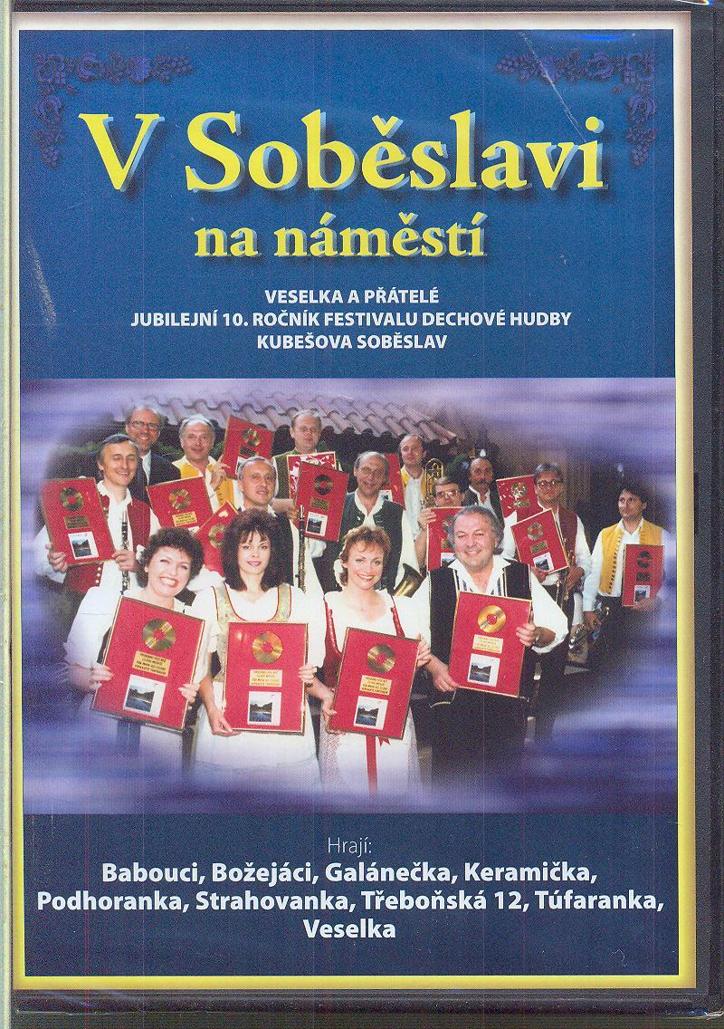V Soběslavi na náměstí DVD plast