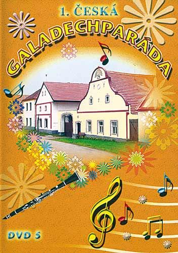 1.Česká Galadechparáda DVD5 plast