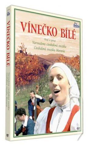 Vínečko bílé DVD plast