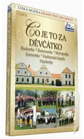 Co je to za děvčátko DVD plast