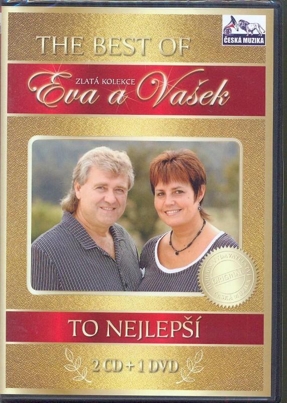 Eva a Vašek - To nejlepší 2CD+ DVD (bazarové zboží)