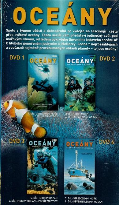 Oceány - kolekce 4DVD