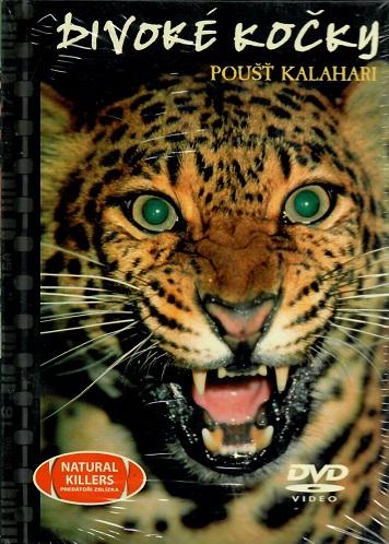 Divoké kočky, poušť Kalahari - DVD