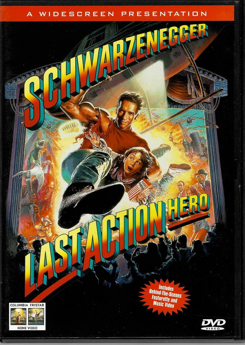 Last Action Hero / Poslední akční hrdina - původní znění, cz titulky - DVD plast