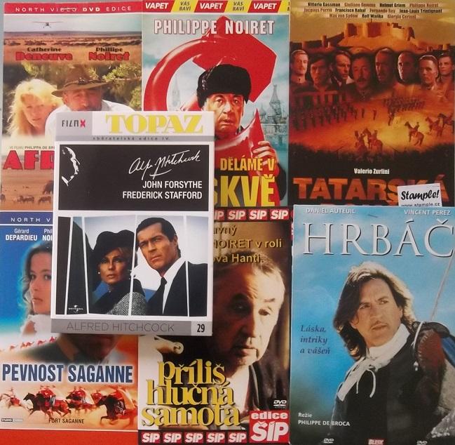 Kolekce Philip Noiret 7 DVD