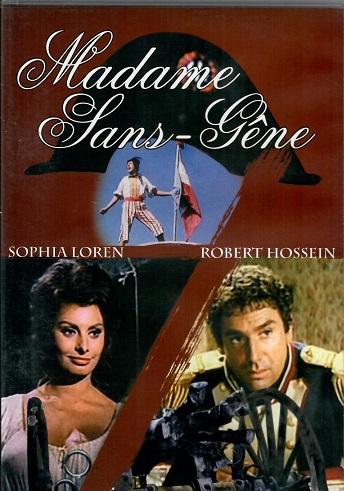 Madame Sans-Gene ( plast ) - DVD